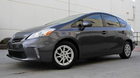 2013 Toyota Prius v for sale at New City Auto - Retail Inventory in South El Monte CA