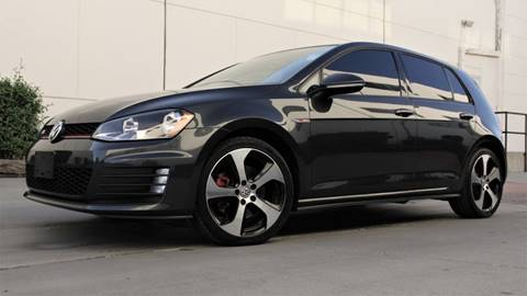 2016 Volkswagen Golf GTI for sale at New City Auto - Retail Inventory in South El Monte CA