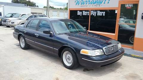 2002 Ford Crown Victoria for sale in New Port Richey, FL