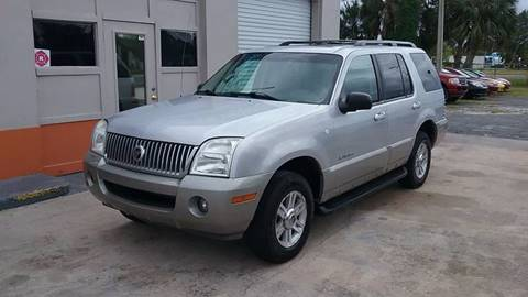 2002 Mercury Mountaineer for sale in New Port Richey, FL