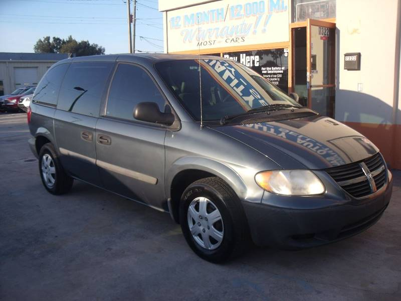 2007 Dodge Caravan SE Used Cars In New Port Richey, FL 34652