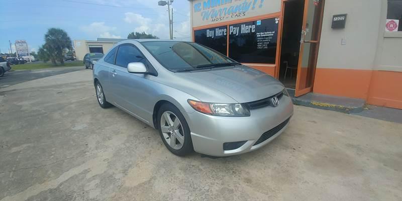 2006 Honda Civic EX 2dr Coupe W/Automatic   New Port Richey FL