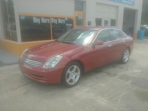 Buy Here Pay Here Wilmington Nc >> 2004 Infiniti G35 For Sale In New Port Richey Fl