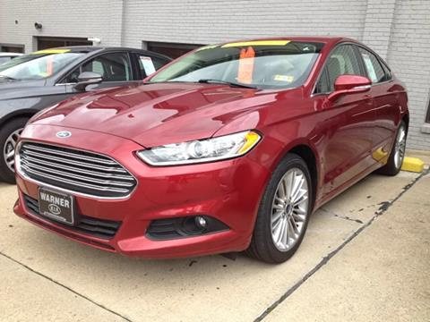2014 Ford Fusion for sale in Parkersburg, WV