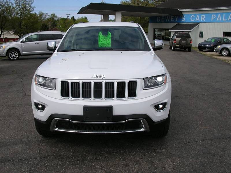 2015 Jeep Grand Cherokee for sale at DEWEY'S CAR PALACE INC.  DEWEYS-AUTO in Delton MI