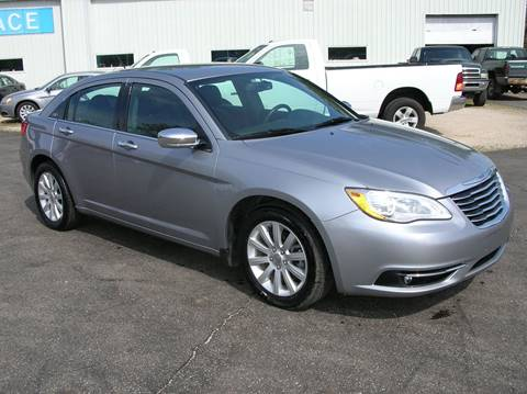 2014 Chrysler 200 for sale at DEWEY'S CAR PALACE INC.  DEWEYS-AUTO in Delton MI