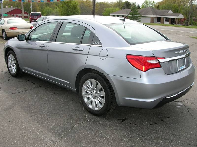 2013 Chrysler 200 for sale at DEWEY'S CAR PALACE INC.  DEWEYS-AUTO in Delton MI