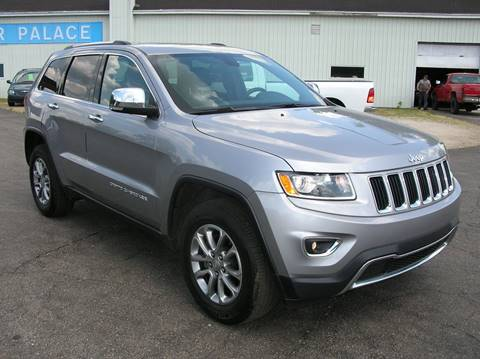 2016 Jeep Grand Cherokee for sale at DEWEY'S CAR PALACE INC.  DEWEYS-AUTO in Delton MI
