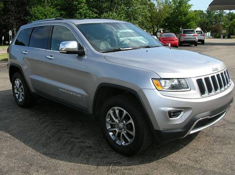 2014 Jeep Grand Cherokee for sale at DEWEY'S CAR PALACE INC.  DEWEYS-AUTO in Delton MI