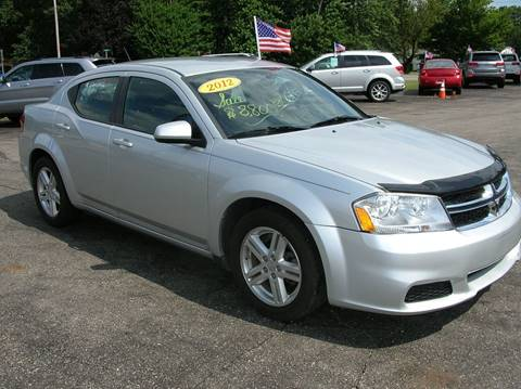 2012 Dodge Avenger for sale at DEWEY'S CAR PALACE INC.  DEWEYS-AUTO in Delton MI
