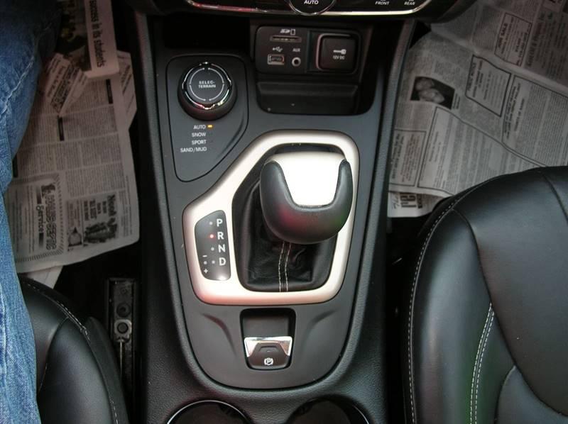 2015 Jeep Cherokee for sale at DEWEY'S CAR PALACE INC.  DEWEYS-AUTO in Delton MI