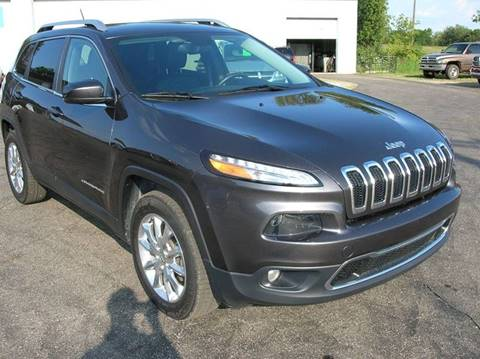 2015 Jeep Cherokee for sale at DEWEY'S CAR PALACE INC.  DEWEYS-AUTO in Delton MI