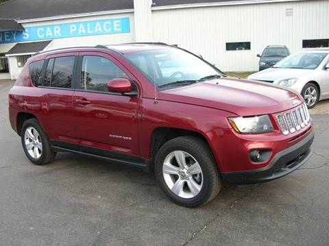 2014 Jeep Compass for sale at DEWEY'S CAR PALACE INC.  DEWEYS-AUTO in Delton MI