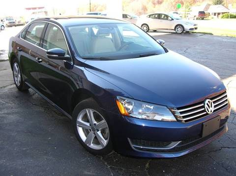 2013 Volkswagen Passat for sale at DEWEY'S CAR PALACE INC.  DEWEYS-AUTO in Delton MI