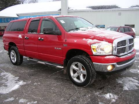2008 Dodge Ram Pickup 1500 for sale at DEWEY'S CAR PALACE INC.  DEWEYS-AUTO in Delton MI