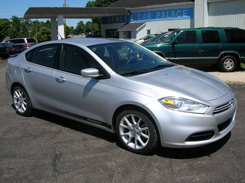 2013 Dodge Dart for sale at DEWEY'S CAR PALACE INC.  DEWEYS-AUTO in Delton MI