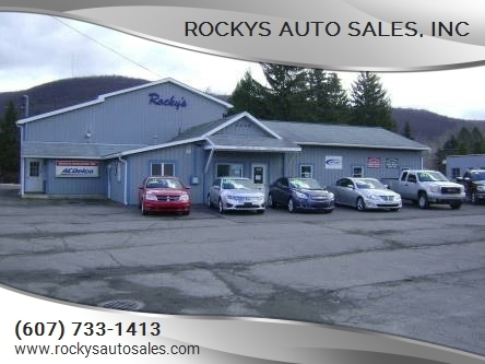 Rockys Auto Sales, Inc – Car Dealer in Elmira, NY