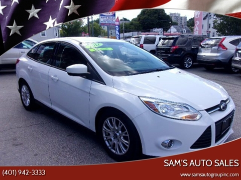 2012 Ford Focus for sale in Cranston, RI