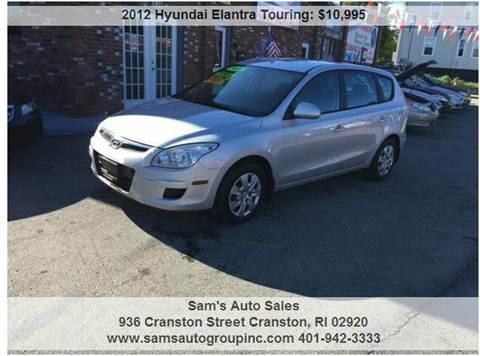2012 Hyundai Elantra Touring for sale in Cranston, RI