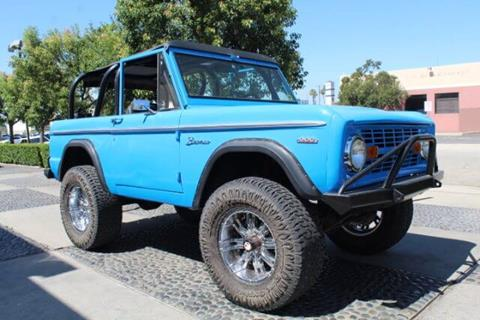 1969 Ford Bronco for sale in Montclair, CA