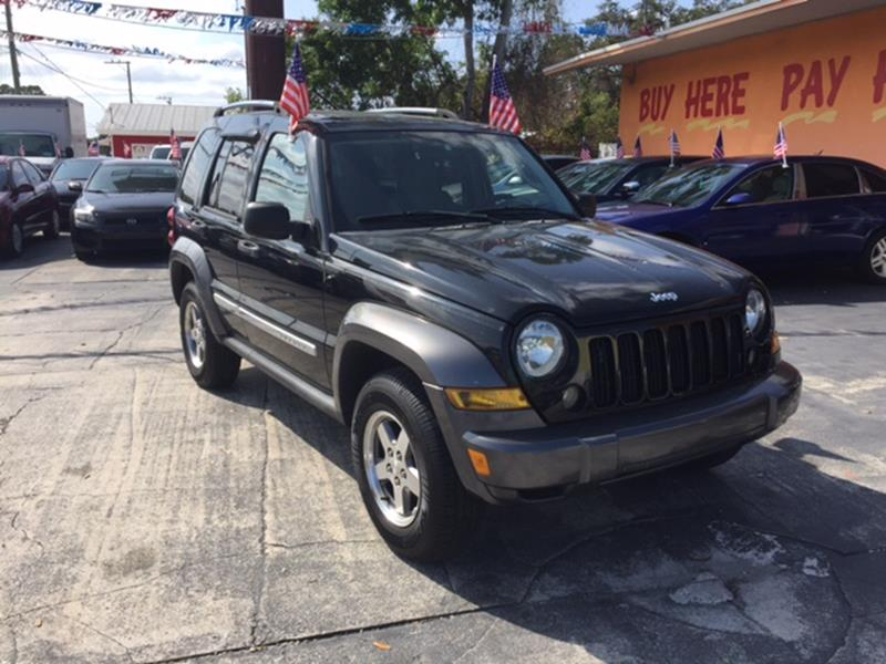 2006 Jeep Liberty for sale at DREAM CARS in Stuart FL