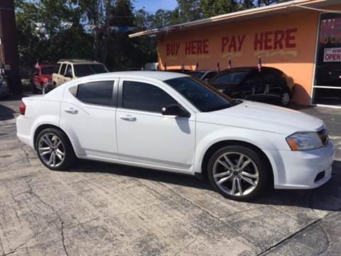 2013 Dodge Avenger for sale at DREAM CARS in Stuart FL