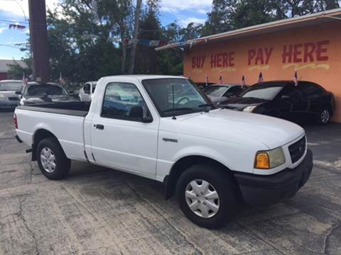 2002 Ford Ranger for sale at DREAM CARS in Stuart FL
