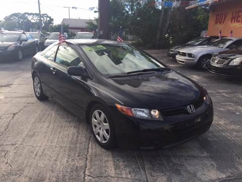 2006 Honda Civic for sale at DREAM CARS in Stuart FL