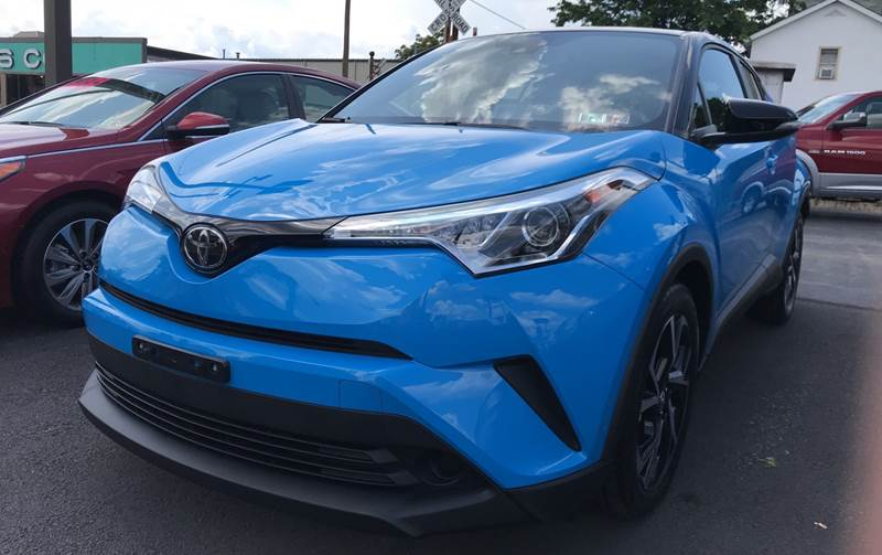2019 Toyota C-HR for sale at Red Top Auto Sales in Scranton PA