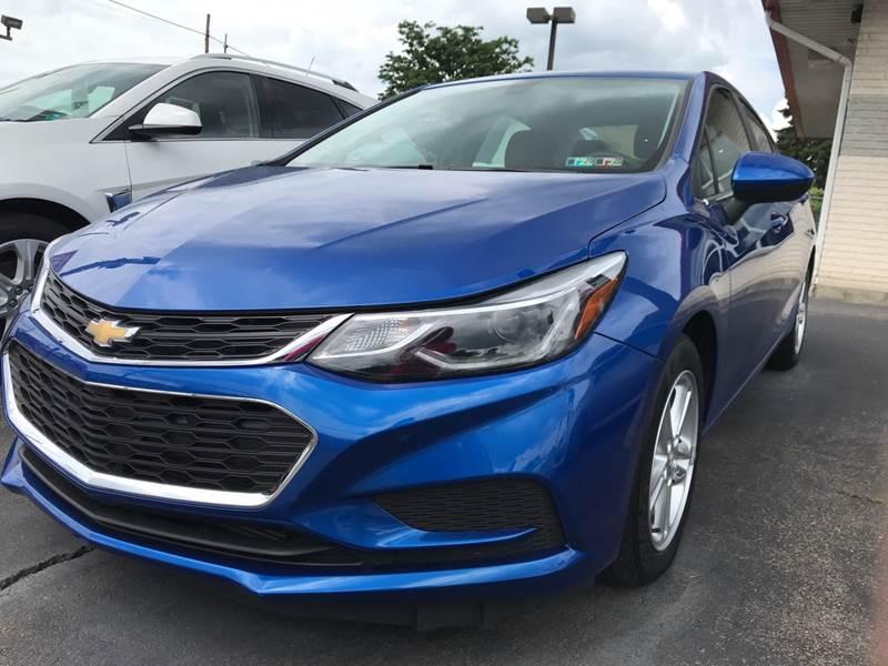 2017 Chevrolet Cruze for sale at Red Top Auto Sales in Scranton PA
