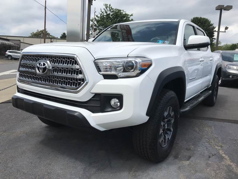 2017 Toyota Tacoma for sale at Red Top Auto Sales in Scranton PA