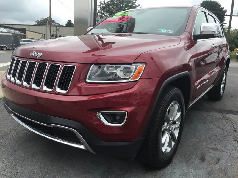 2014 Jeep Grand Cherokee for sale at Red Top Auto Sales in Scranton PA