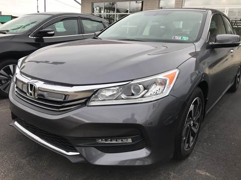 2016 Honda Accord for sale at Red Top Auto Sales in Scranton PA