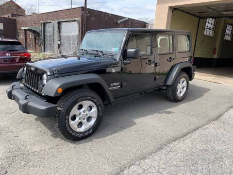 2017 Jeep Wrangler Unlimited for sale at Red Top Auto Sales in Scranton PA