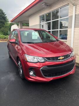 2017 Chevrolet Sonic for sale at Red Top Auto Sales in Scranton PA