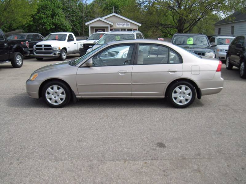 2002 Honda Civic EX 4dr Sedan - Jenison MI