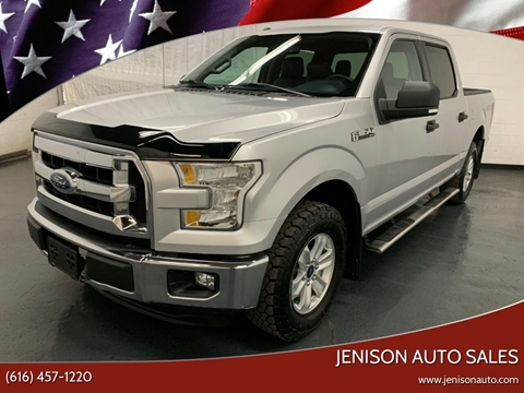2016 Ford F-150 XLT for sale at Jenison Auto Sales in Jenison MI