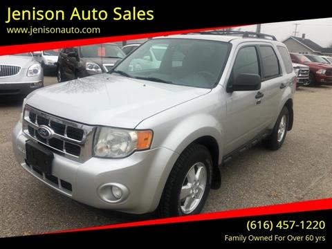 2010 Ford Escape XLT for sale at Jenison Auto Sales in Jenison MI