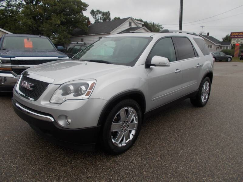 2010 GMC Acadia for sale at Jenison Auto Sales in Jenison MI