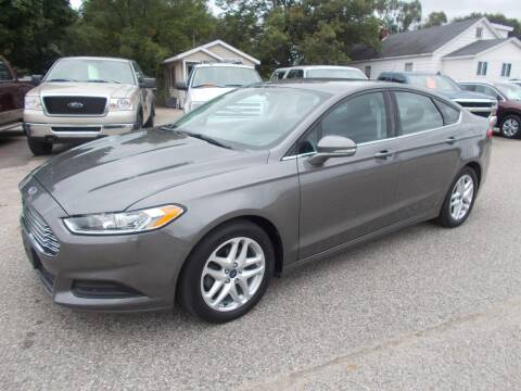 2014 Ford Fusion for sale at Jenison Auto Sales in Jenison MI