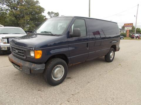 2005 Ford E-Series Cargo for sale at Jenison Auto Sales in Jenison MI