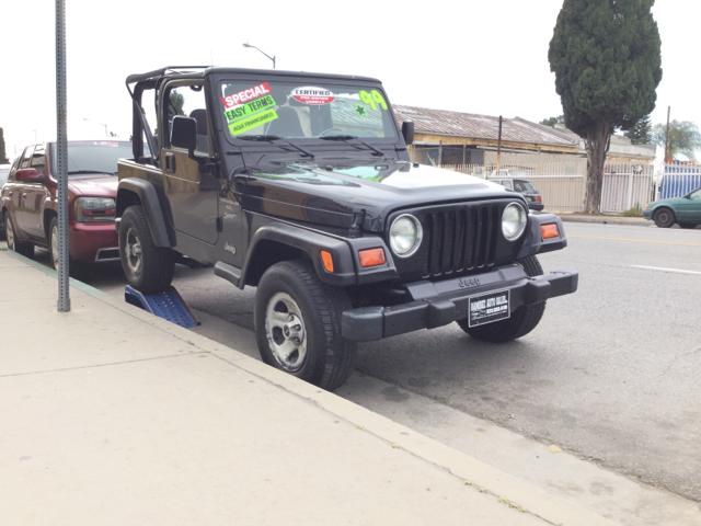 Ramirez Auto Sales >> 1999 Jeep Wrangler Sport 2dr 4wd Suv In Los Angeles Ca