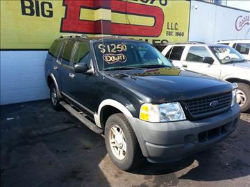 2003 Ford Explorer for sale in Detroit, MI