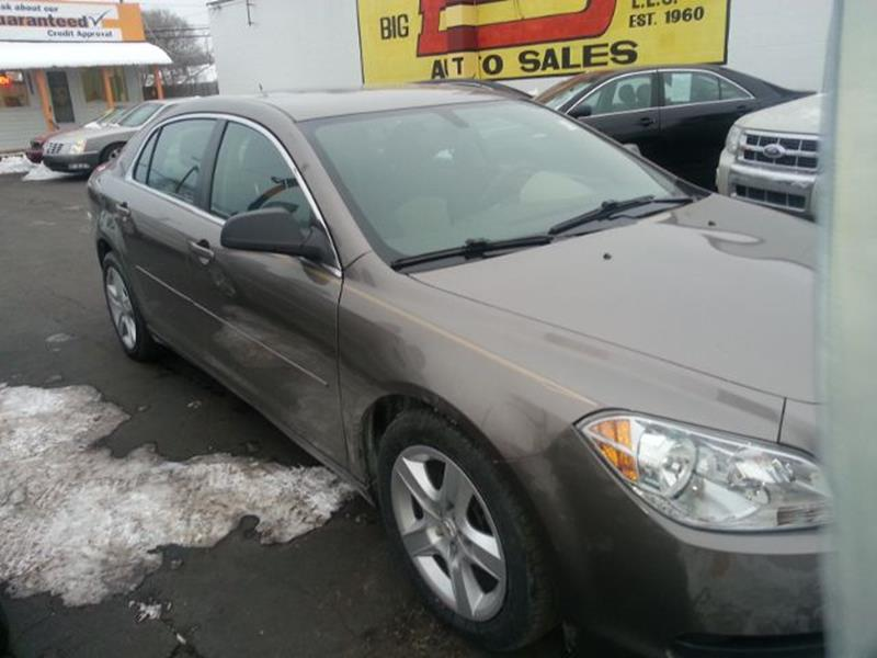 2011 Chevrolet Malibu car for sale in Detroit