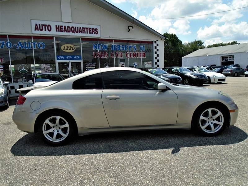 2003 Infiniti G35 2dr Coupe In Lakewood Nj Auto Headquarters