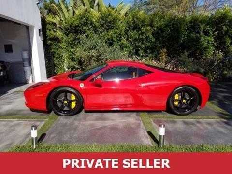 Used Ferrari For Sale >> 2015 Ferrari 458 Italia For Sale In Lakewood Nj