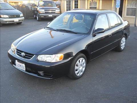 2002 Toyota Corolla for sale at PRICE TIME AUTO SALES in Sacramento CA