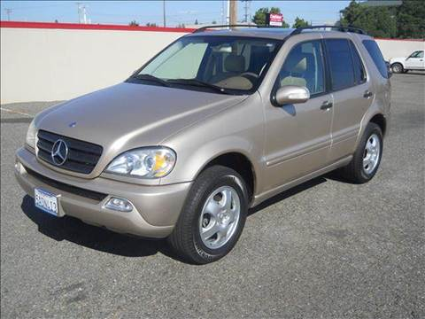 2002 Mercedes-Benz M-Class for sale at PRICE TIME AUTO SALES in Sacramento CA