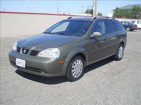 2005 Suzuki Forenza for sale at PRICE TIME AUTO SALES in Sacramento CA