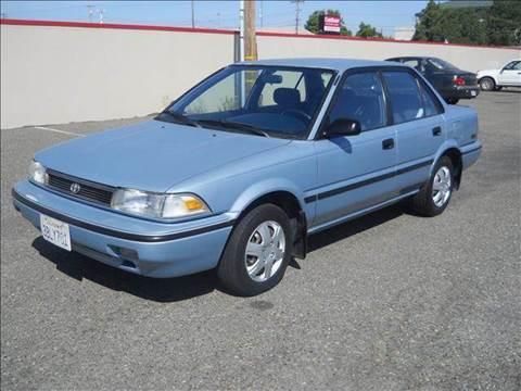 1992 Toyota Corolla for sale at PRICE TIME AUTO SALES in Sacramento CA